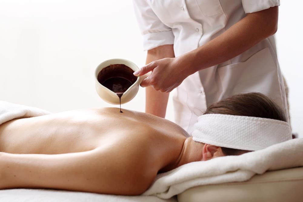 Massaggio al cioccolato, proprietà